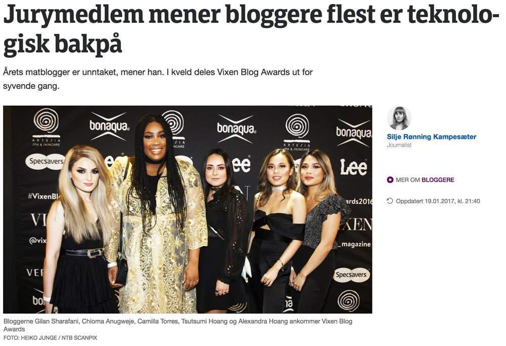 Utklipp fra NRK.NO