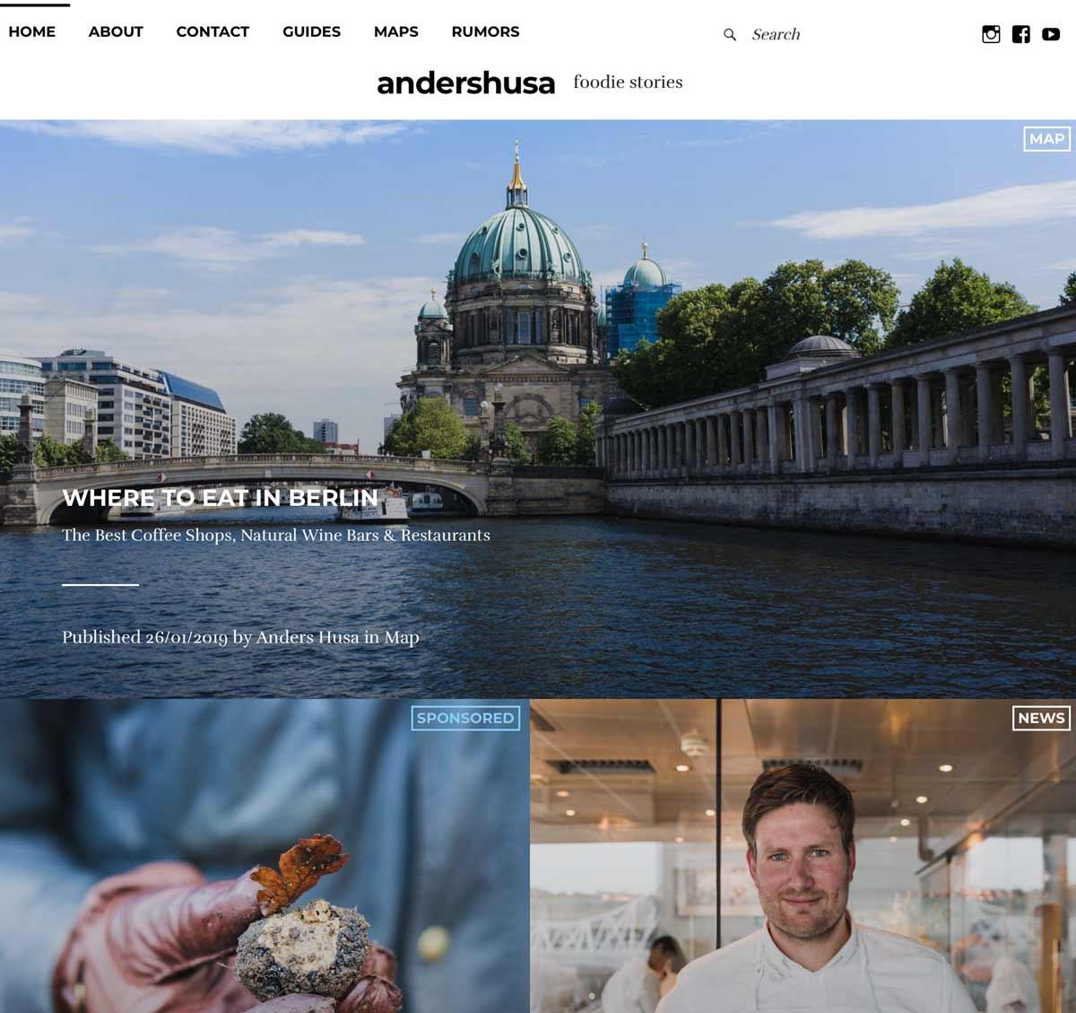 Anders Husa bruker Trafikkmaskin som Wordpress hosting i Norge.